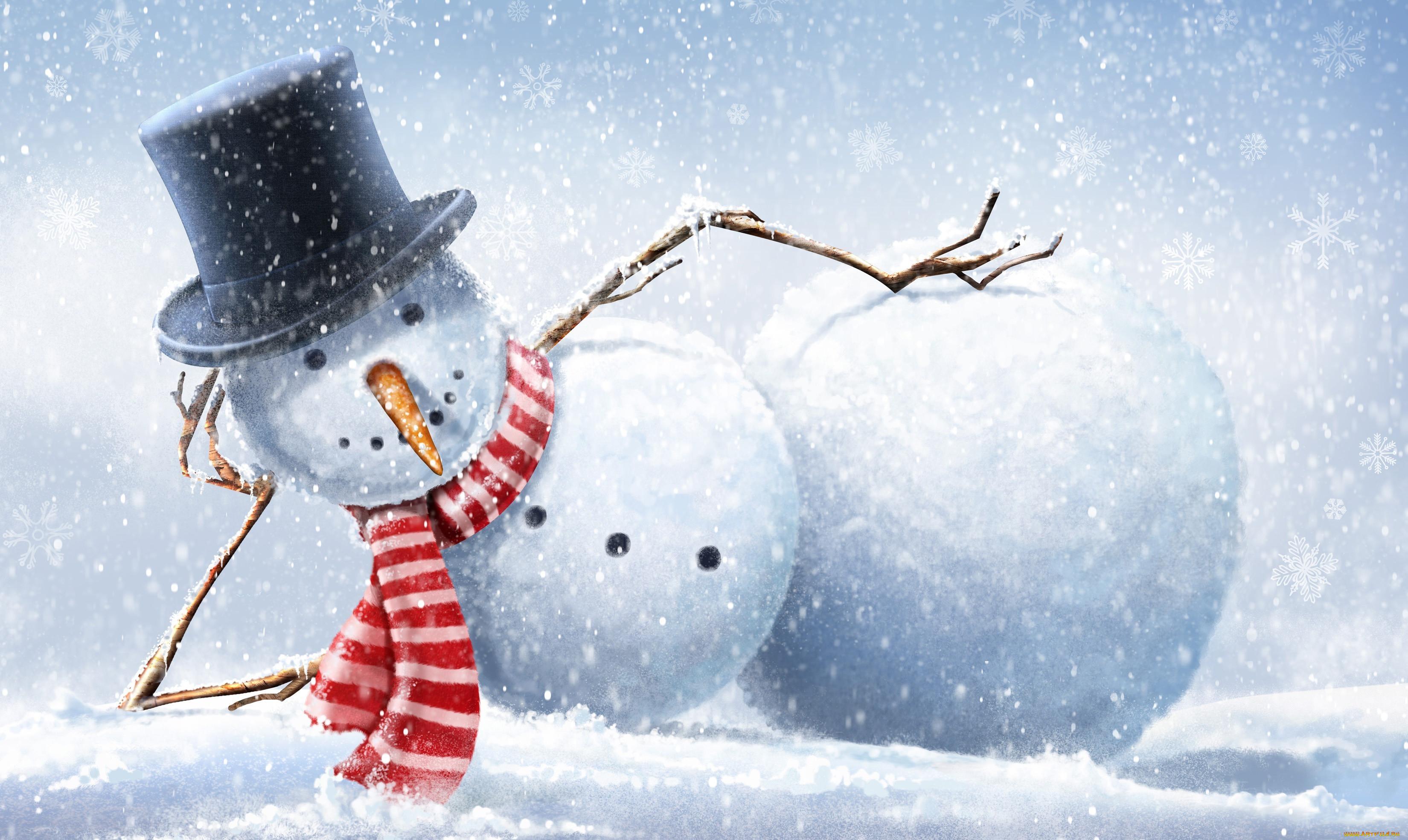 зимние открытки на телефон будет вдвойне приятно